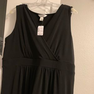 Christopher & Banks black maxi dress size XL